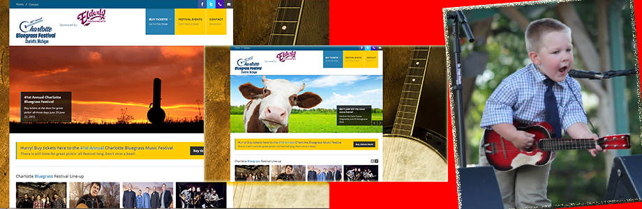 Charlotte Bluegrass Festival Website