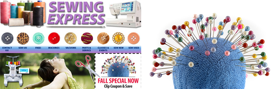 Sewing Express website